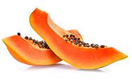 Papayastücke