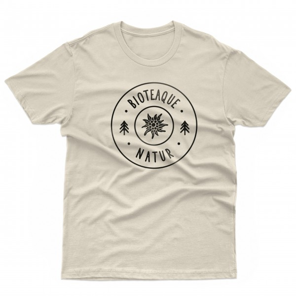 T-Shirt natur white Herren