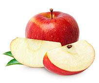 Apfelstücke